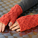 Bas Relief Mitts pattern
