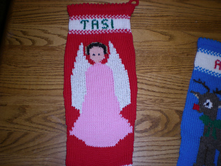 Knitted Christmas Stockings.Ravelry Ann Norling 1018 Knitted Christmas Stockings