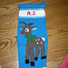 Rudolph Christmas Stocking pattern