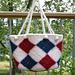 Felted Argyle Bag pattern
