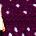 Deep Purple Capelet pattern