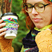 Woods Adventure Coffee Cup Sleeve pattern
