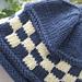 Checkered Band Hat pattern