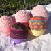 Scrappy Sock Yarn Preemie Hat pattern