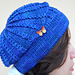 Blue beret pattern