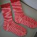 Lacy Ribs Socks pattern