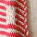 Deco Stripe Cowl pattern