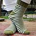 Caterpillar Socks pattern