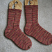 Lace and Cable Socks pattern
