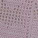 My February Scarf pattern