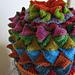 Peak Brim Flare Crown Star Top Hat pattern
