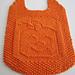 Pumpkin Jack Bib pattern