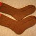 Bavarian Cable Socks pattern