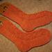Ribbed Ribbon Socks pattern