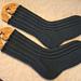 Mock Cable Socks pattern