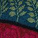 Leaf Cardigan with Velvet Trim (page 142) pattern