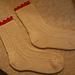 Traditional Gansey Socks pattern