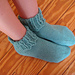 Lace Cuff Anklets pattern