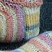 Lacy Scallops Socks pattern