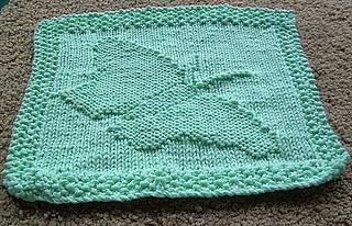 Ravelry: Butterfly in Flight Dishcloth pattern by RaAnn Clegg