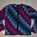 Colour Blocks Jacket pattern