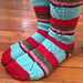 Ribbon Candy Socks pattern