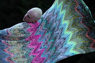 Briochevron Blanket 8
