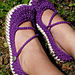 Crossover Strap Mary Janes pattern