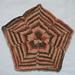 Petal Dishcloth pattern
