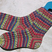 Mini Cable Spiral Socks pattern