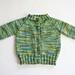 Top Down Raglan Baby Sweater pattern