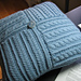 Four Square Cabled Pillow pattern