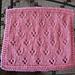 Tulip Lace Dishcloth #022 pattern