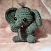 Alexander the Baby Elephant pattern