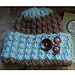 Cable Switchback Hat pattern