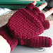 Crocheted Mittens / Fingerless Gloves pattern
