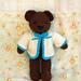 Bear with Cardigan pattern