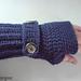 Ribbit Fingerless Gloves pattern