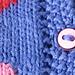 Heart-Motif Cardigan pattern