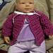 Bev's Newborn Baby Jacket pattern