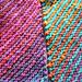 The Unicorn Pegasus Rainbow Scarf pattern