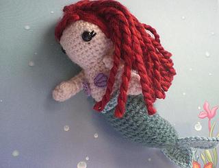 Enchanting Mermaid Amigurumi   245x320