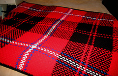 Weekly Easy-to-Crochet Tartan Rugs