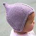 Baby Pilot-Style Hat pattern