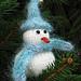 Let It Snowman pattern