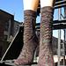 Giger Socks pattern