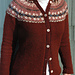 Fair Isle Yoke Cardigan pattern