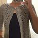 Chevron Lace Cardigan pattern