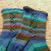 Biological Clock Socks pattern