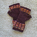 Mad About Plaid Mitts pattern